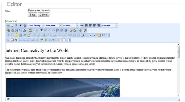 website-editor